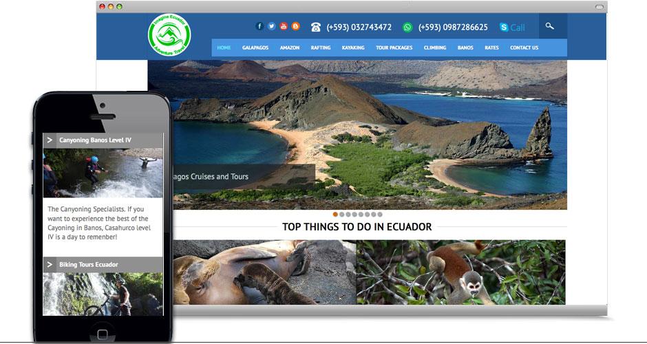 Resultado de imagen para promoción turística digital ecuador